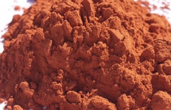 Очень редкая коричневая глина