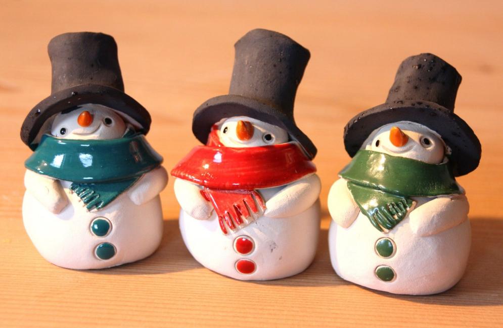 Веселые снеговички своими руками
