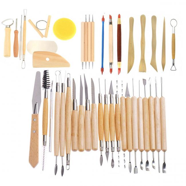 Инструменты необходимые для лепки