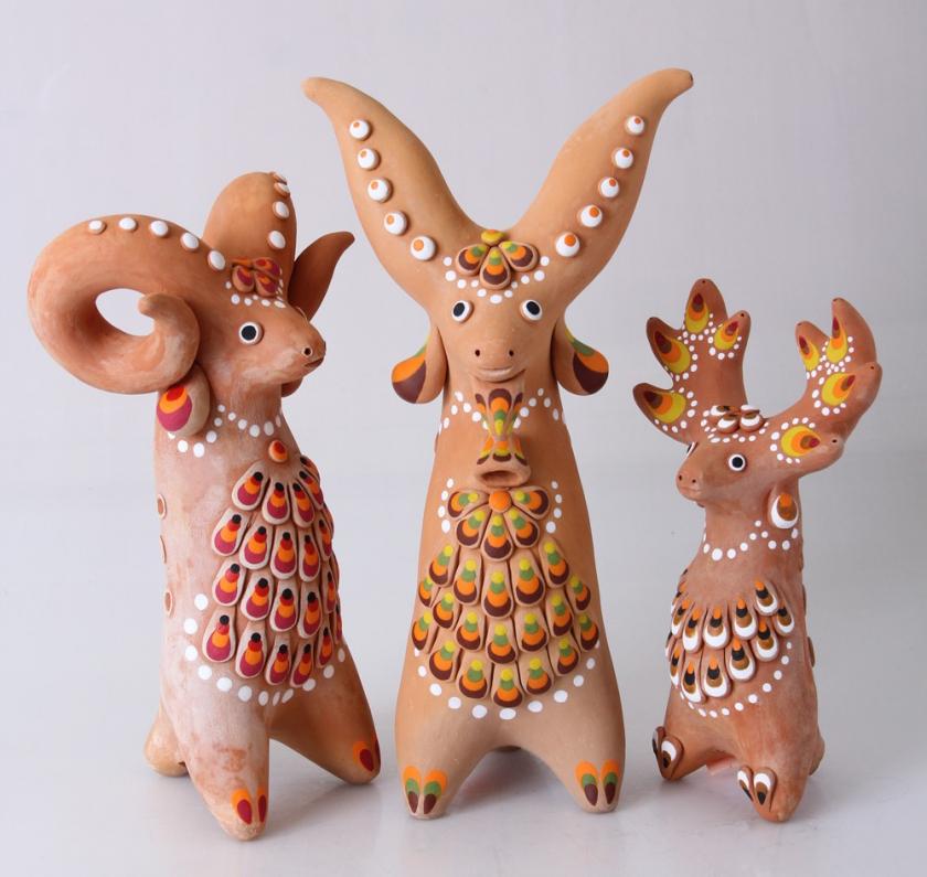 Картинки с игрушками из глины