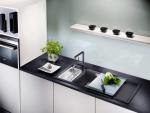 Каменные раковины - Красивое дополнение кухни. 175+(Фото) круглых, квадратных и угловых. Выбираем вместе с нами