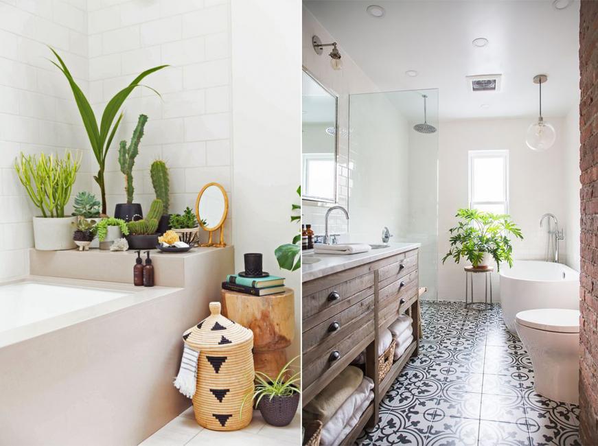 Много света и много цветов - Ваша ванная оживет