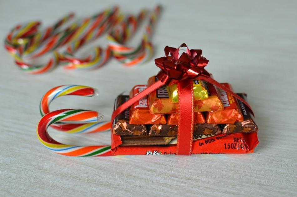 Сани из сладостей - порадуют каждого ребенка