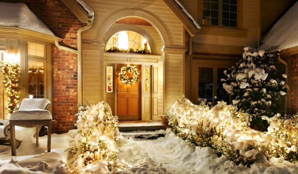 Украшение гирляндами для создания праздника: 145+ (Фото) потрясающих декоров для дома, окна, елки, стены на 2020 год Крысы. Смелые идеи, которые способны изменить Ваш интерьер. 4 мастер-класса