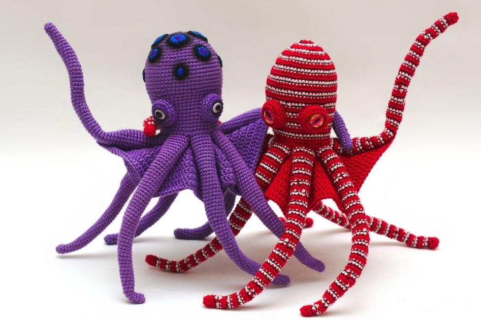 Варианты осьминожек, которых легко сделать своими руками