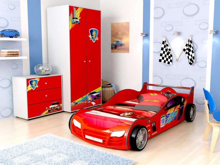 Красивая и яркая машина - мечта Вашего сына