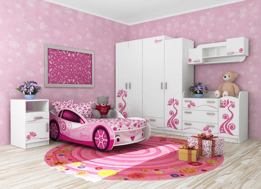 Даже для девочки можно подобрать очень красивую кроватку