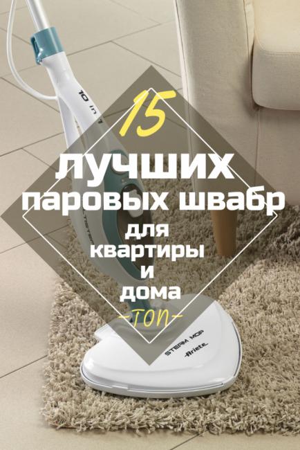 ТОП-15 рейтинга лучших паровых швабр