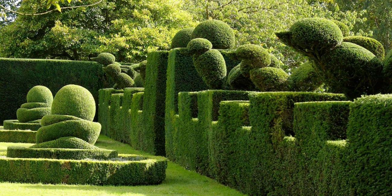 Геометрические фигуры для Вашего сада