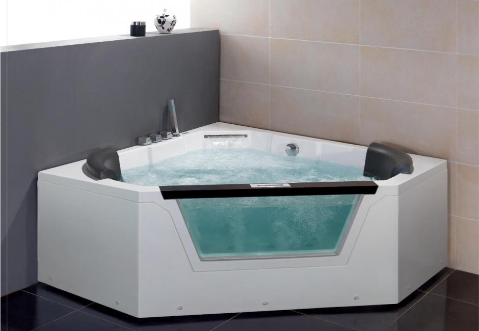 Особое внимание при выборе ванны следует уделить гидромассажной системе