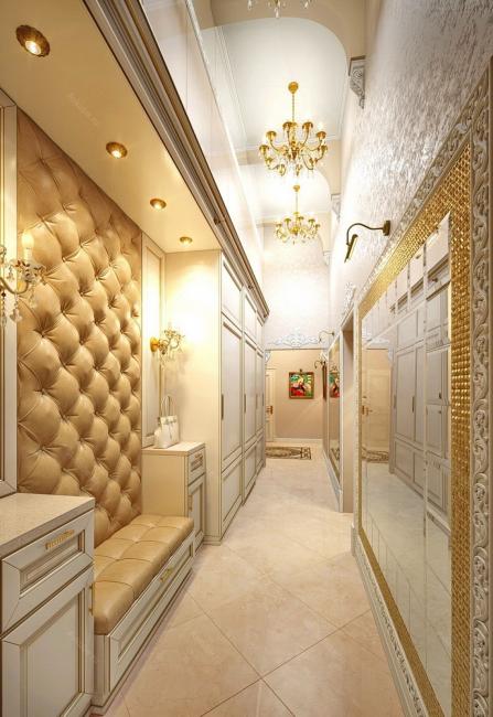 Расширяем визуально узкую комнату