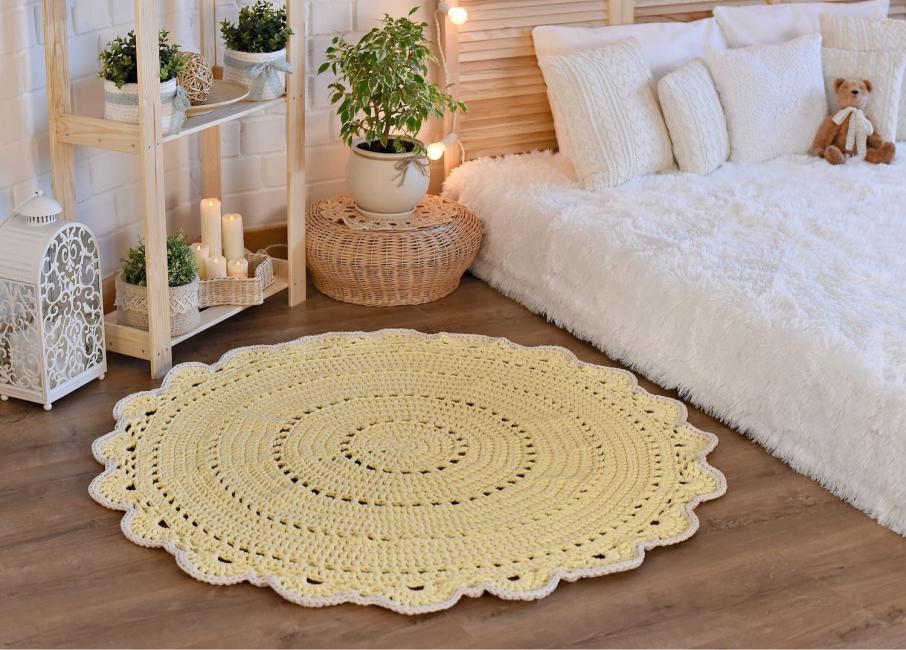 Для классического стиля хорошо подойдут ковры овальной формы