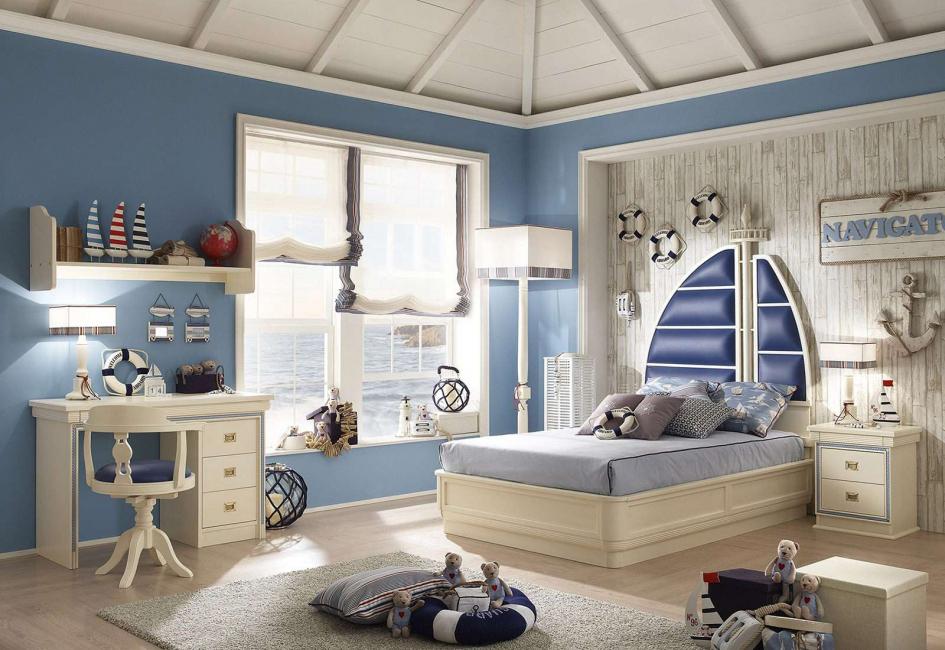 Нейтральность в оформлении комнаты для детей