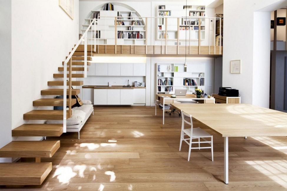 Оформлению лестницы следует уделить особое внимание