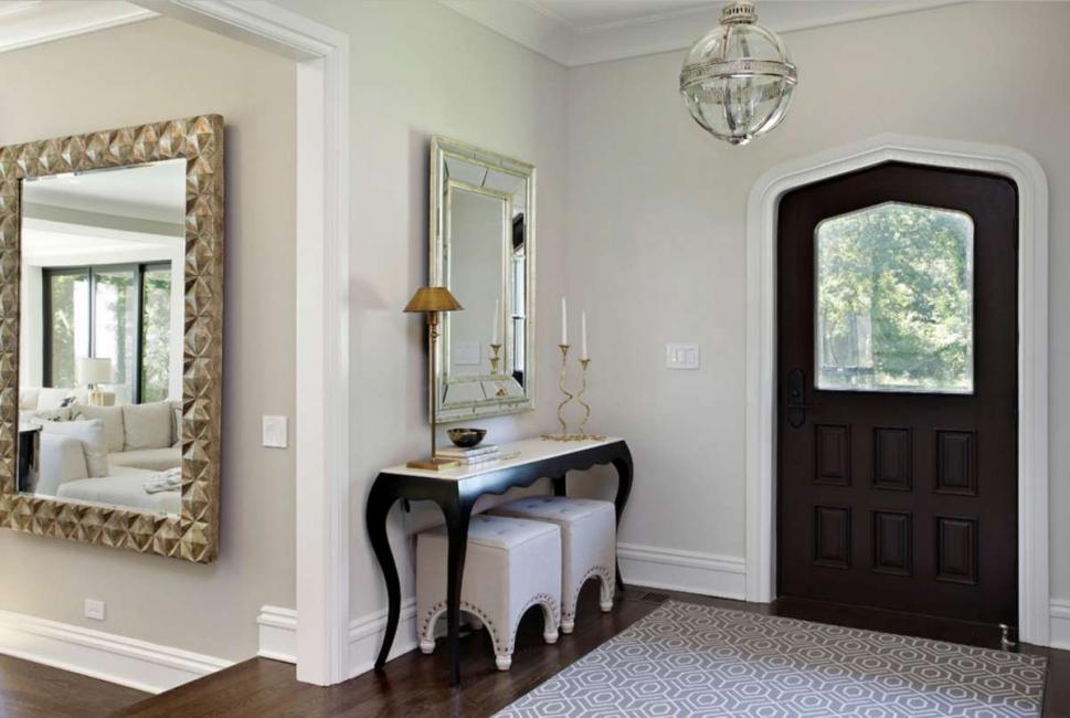 Дизайн помещения может быть совершенно любым, главное, чтобы материалы были качественными