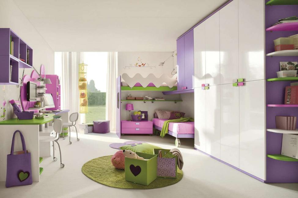Цветной ковер на полу - яркий акцент для любой комнаты