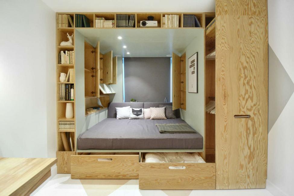 Доавляем уюта деревянными элементами