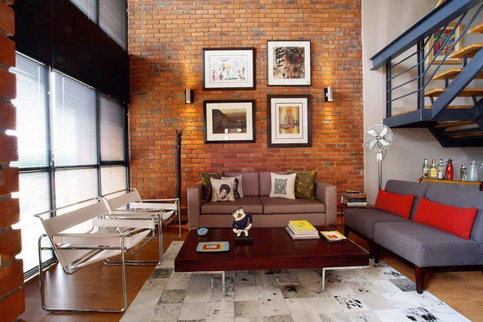 Старайтесь не нагромождать интерьер ненужной мебелью