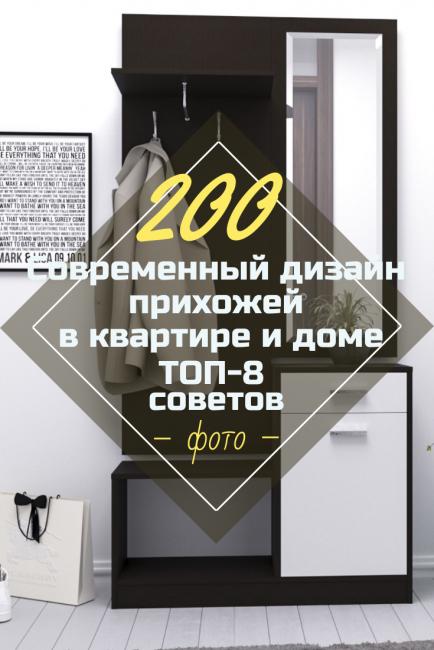Современный дизайн прихожей в квартире и доме