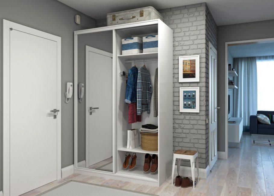 Простой шкафчик для самого необходимого