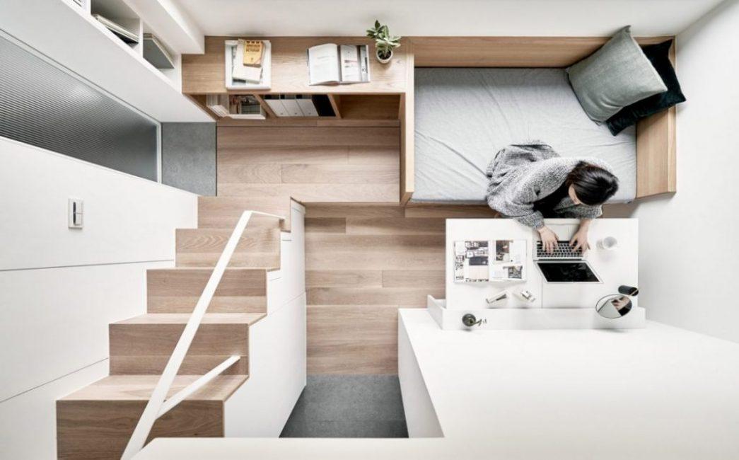 Общий вид на квартиру сверху