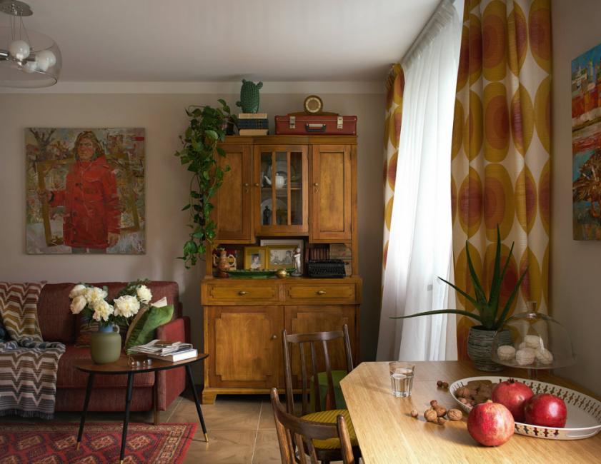 Общий вид квартиры практически не изменился и остался привычным