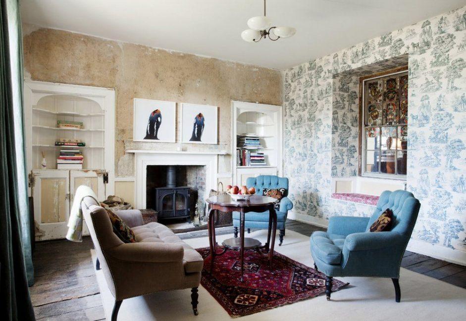 Фермерский дом, который был построен более 200 лет назад, превратили в жилое помещение дизайнеры Laplace & Co, а также Benjamin & Beauchamp