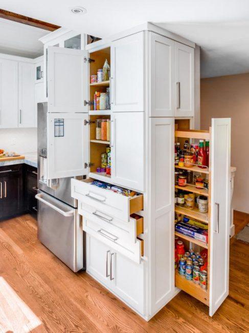 Теперь вы знаете, как хранить многочисленные баночки и коробочки на кухне