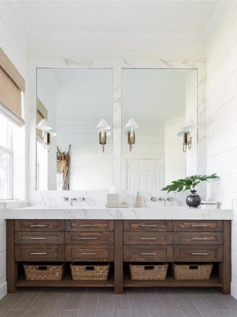Стильное решение для ванной комнаты, если вы идете в ногу со временем и модой