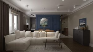 Квартира в стиле Эклектика: 60 м2 смелых сочетаний и комбинаций