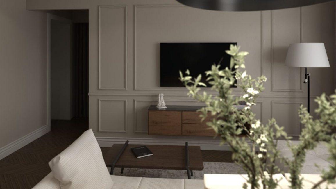Торшеры в цвет дивана классического стиля