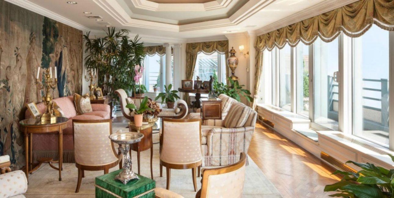Роскошный интерьер для роскошной квартиры