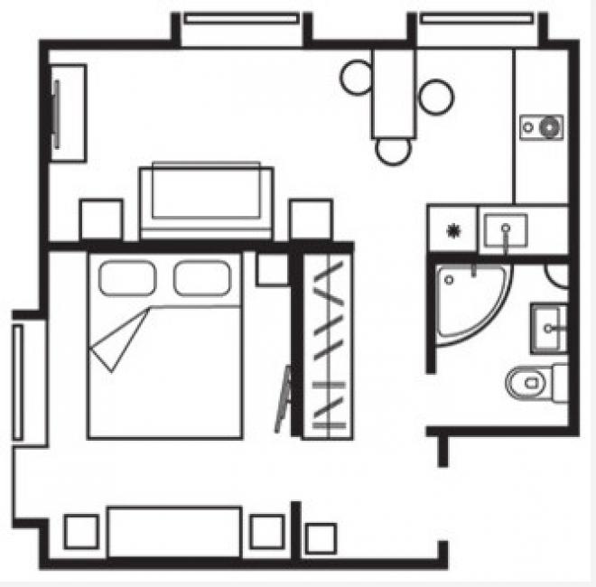 Общая планировка квартиры