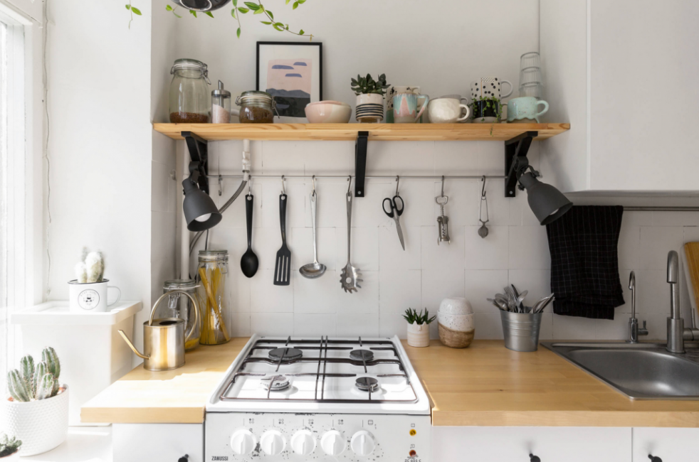 На кухне есть все, что нужно