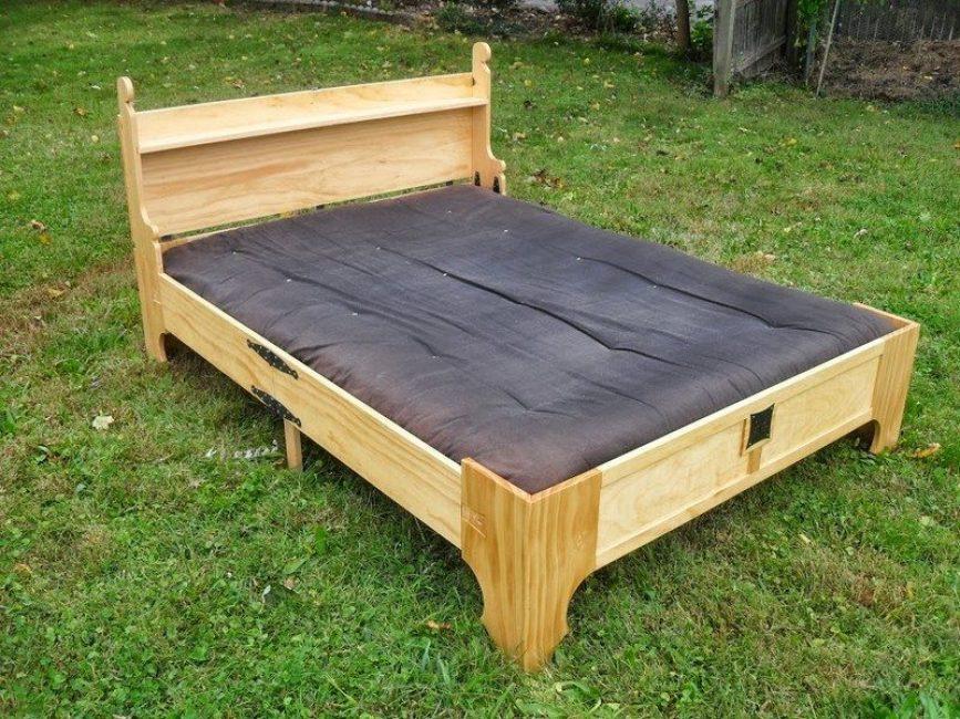 Так выглядит кровать разложенном состоянии