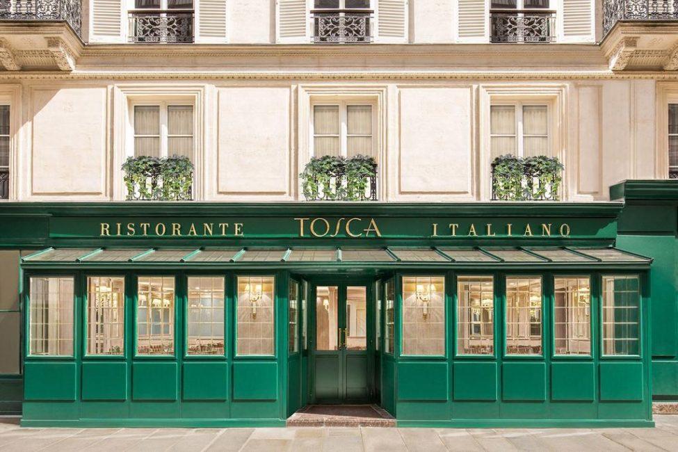 На первом этаже отеля расположен ресторан, в котором работает шефом Мишелино Джоя, который был удостоен Мишленовской звезды