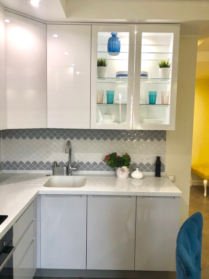 Полное преображение скучной кухни в эталон вкуса своими руками. Фото До/После