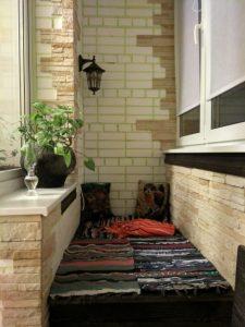 Муж в свободное время преобразил кухонный балкон и сделал место для отдыха. Фото До/После