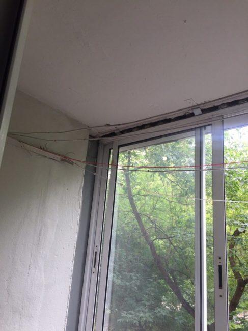 Ремонт затеяли капитальный, поэтому заменили абсолютно все, в том числе окна и сушилку для белья