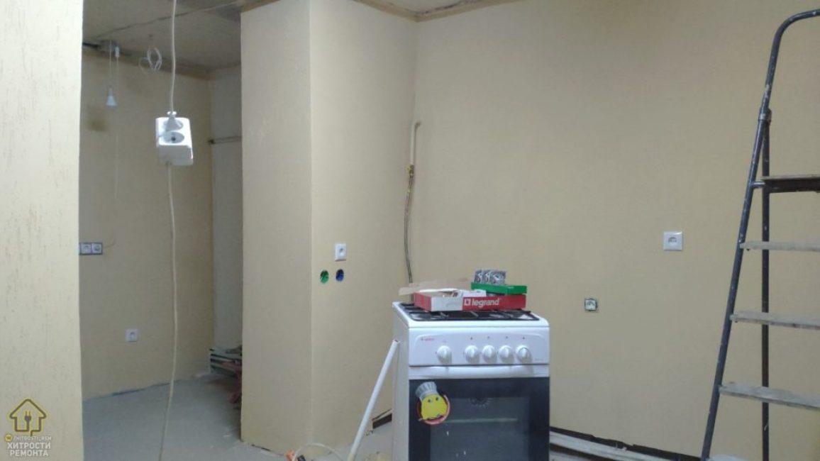 Такие стены очень практичные, ведь при необходимости их всегда можно подкрасить локально