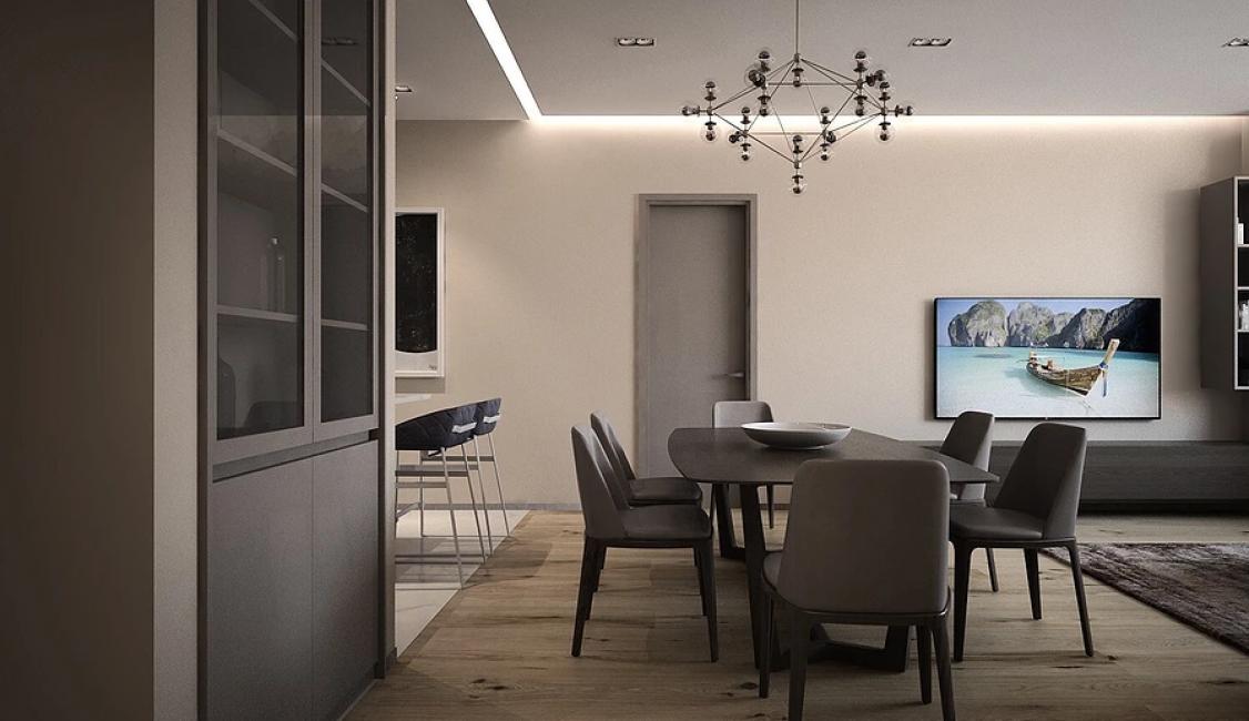 Главными для заказчиков были простота и удобство. Но, несмотря на это, квартира не лишена декора и особого шарма.