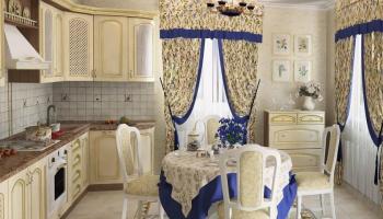 Дизайн современной шторы с ламбрекеном на кухню. Модные тенденции и ТОП-6 советов + 145 ФОТО