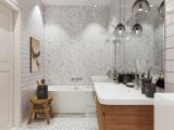 Выбираем плитку для маленькой ванной комнаты. Оптимальное сочетание стиля и дизайна, ТОП-10 решений + 150 ФОТО