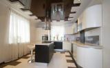 Дизайн потолка на кухне (натяжной, пластиковый, из гипсокартона). Какой лучше сделать + 180 ФОТО