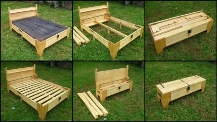 Кровать-сундук: лучшее решение для дополнительного спального места
