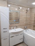 Парень решил обновить ванную комнату и сделал капитальный ремонт на досуге. Фото До/После