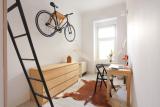 Вроцлав: Крохотная квартирка на 13 кв. м. Удивительная функциональность и простор