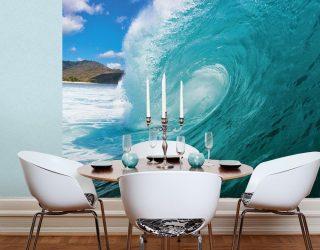 Как смотрятся 3д фото обои на стене: 225+ Фото невероятных интерьеров