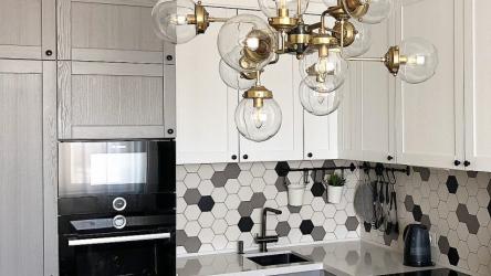 Муж с женой потратили 226 тыс.руб. на кухню своей мечты. Много ФОТО