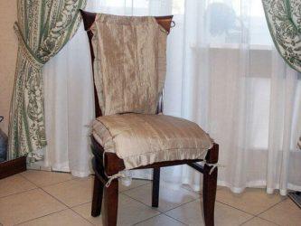Как сшить чехлы на стулья своими руками (135+ Фото) — Простые и быстрые Мастер-классы